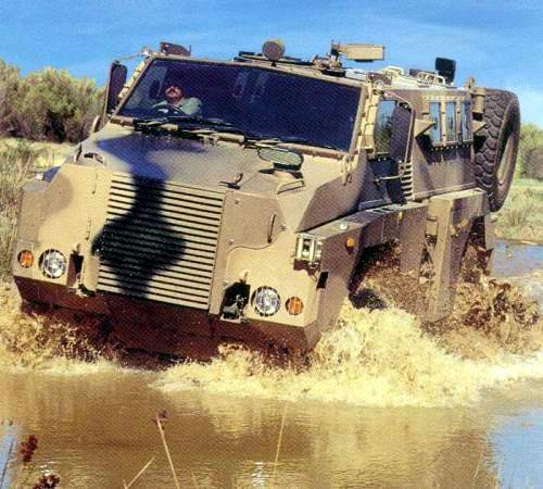 The Australian Army has tested the vehicle over thousands of kilometres in the extreme climatic conditions and terrain from sub-zero mountain areas to desert and tropical conditions.
