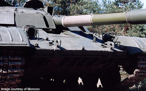 The tank has composite armour with add-on ERA protection package.