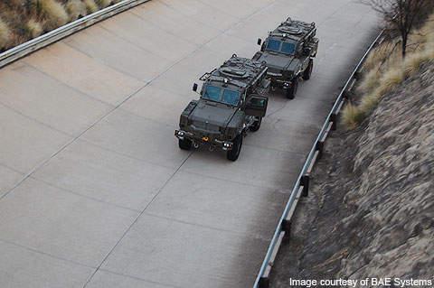 RG-31 Mk5 vehicles