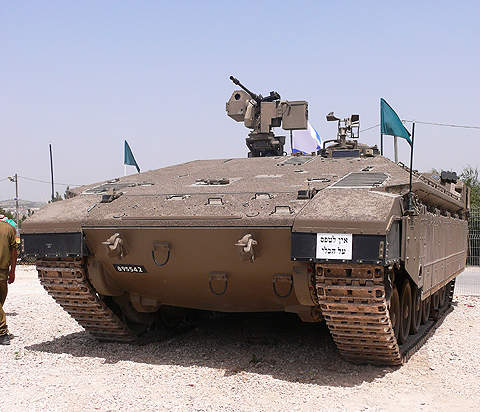 IDF's armoured infantry fighting vehicle