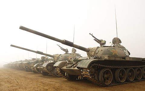 Al-Zarrar was rebuilt by modifying 54 features of the large fleet of Type 59 tanks in Pakistan.