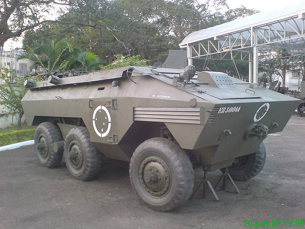 The VBTP-MR will replace the aging EE-11 Urutu APC currently in use with the Brazilian armed forces.