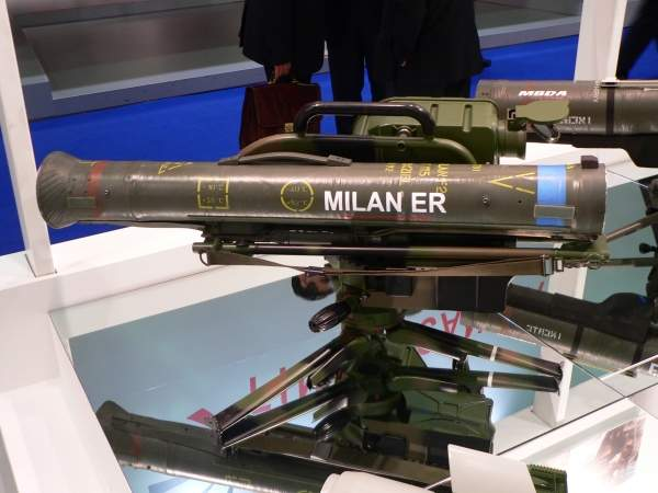 Fahd can be optionally armed with MILAN anti-tank guided missiles. Image courtesy of David Monniaux.
