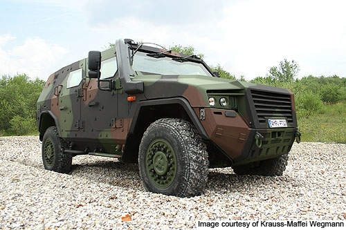 The AMPV is extremely mobile over uneven and rough terrains.