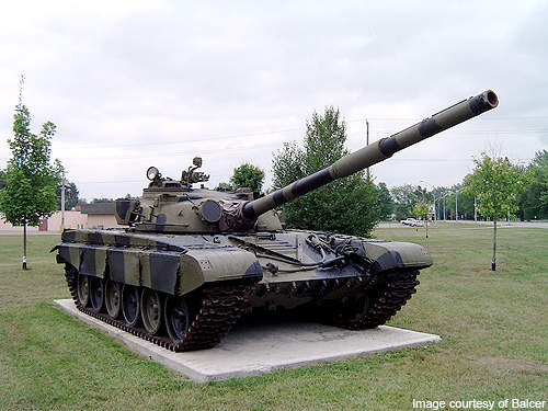 The BMPT is based on the chassis of the T-72 tank.