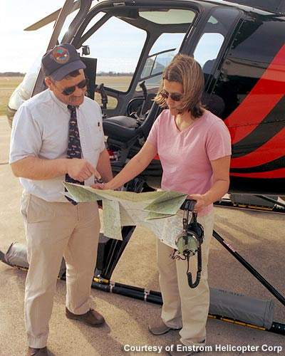 An instructor training the trainer.