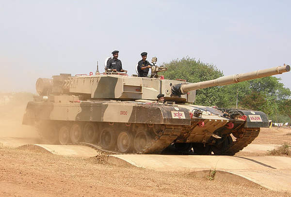 LAser Homing Attack Missiles (LAHAT) was successfully tested on the Arjun main battle tank of the Indian Army in 2005. Image courtesy of Ajai Shukla.