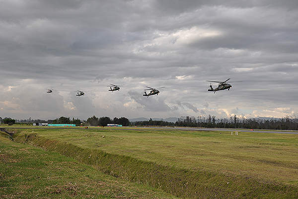 The Colombian Army is the first South American customer to receive S-70i Black Hawk multimission helicopter. Credit: Sikorsky Aircraft Corporation.