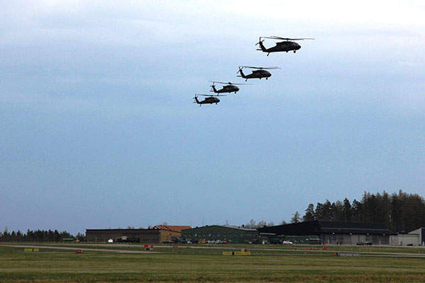 The Government of Sweden requested for 15 UH-60M helicopters through the foreign military sales programme in September 2010. Image courtesy of U.S. Army.
