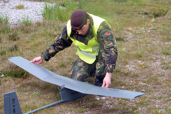 The UAS features modular, fixed-wing design. Image courtesy of TEKEVER Autonomous Systems.