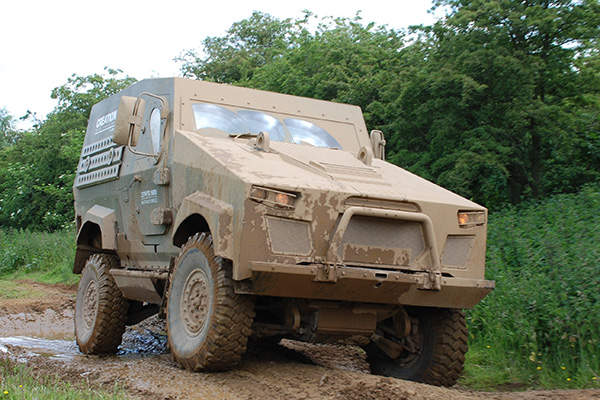 The Metras MRV has a ground clearance of 446mm. Image: courtesy of Penman