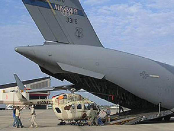 The Armed Aerial Scout 72X (AAS-72X) can be transported by C-17 aircraft. Image courtesy of US Army.