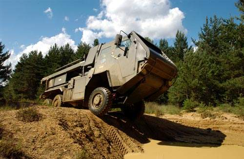 The LIMAWS(R) vehicle is based on a 6x4 six-wheeled four wheel drive Supacat chassis.