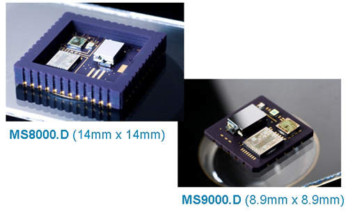 Image of Gun-Hard Accelerometers MEMS Motion Sensors from Colibrys