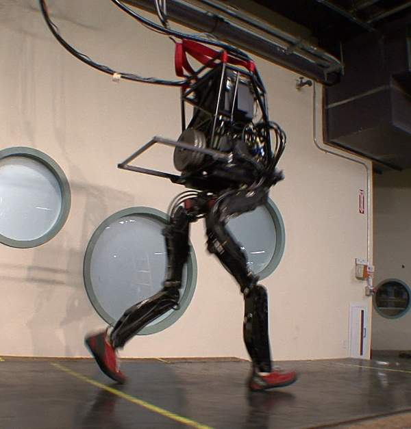 Petman-like robots could access areas with extreme levels of radiation and beam back live images or readings, allowing off-site humans to assess the situation without putting themselves at risk - Petman image courtesy of Boston Dynamics.