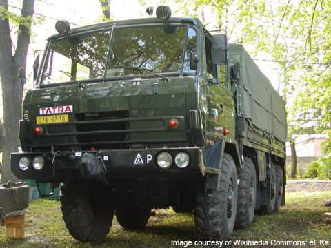 The Indian Ministry of Defence ordered a total of 788 Tatra vehicles from BEML on 18 March 2010.