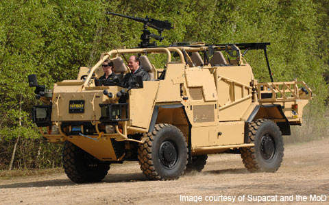The Jackal 2 and Coyote support vehicles will be serving in Afghanistan by the end of 2009.