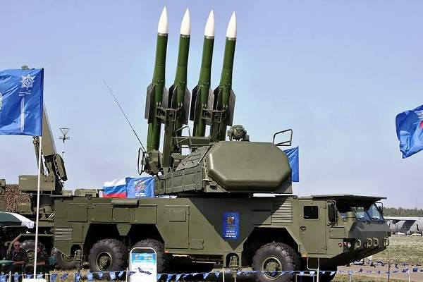 The missile system can carry up to six 9A317E self-propelled fire units. Image courtesy of Vitaly V. Kuzmin.