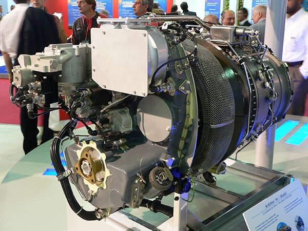 The power plant of Hal Rudra includes two HAL / Turbomeca Ardiden 1H1 (Shakti) turboshaft engines. Image courtesy of David Monniaux.