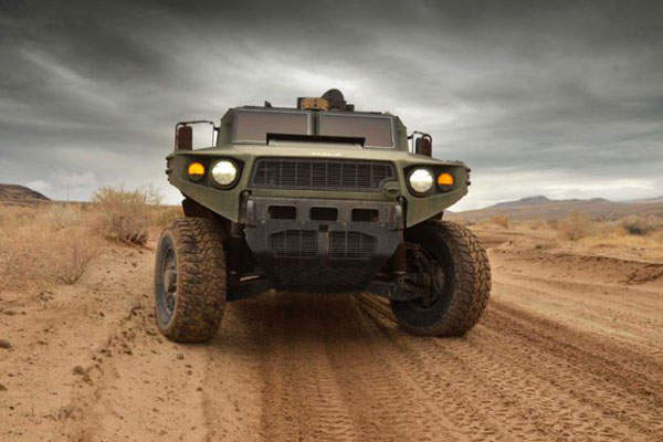 The ULV can reach a distance of 337 miles, cruising at 35mph on flat surface. Image courtesy of US Army TARDEC.
