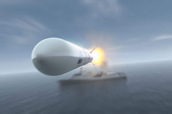 The sea based variant of the CAMM missile is being developed for the UK's Royal Navy. Image courtesy of MBDA.