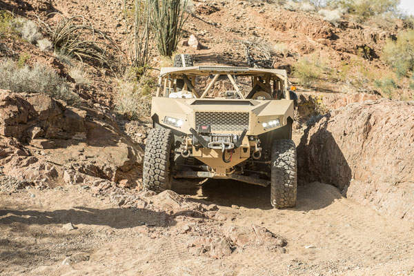 The DAGOR combat vehicle has a range of 805km. Image courtesy of Polaris Industries, Inc.