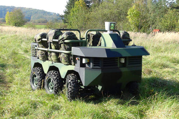 TAROS V2 6x6 wheeled vehicle was unveiled in December 2014. Image courtesy of VOP CZ.
