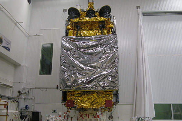 The Sicral 2 satellite was launched from French Guiana. Image courtesy of Thales Alenia Space.