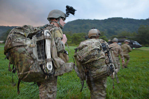 MTGR is a handheld system that can be carried by an individual soldier. Image: courtesy of ROBOTEAM.