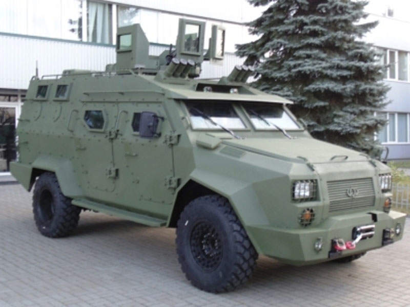 Bars-8 armoured vehicle has a top speed of 120km/h. Image courtesy of Bogdan Corporation.