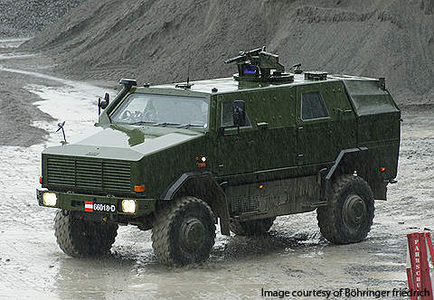 In September 2004, Austria placed an order for 20 vehicles, delivered in late 2004 and 2005.