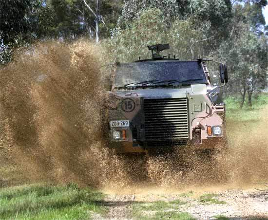 The Bushmaster is being produced in six variants: troop transport, ambulance, direct fire, mortar, engineer and command.