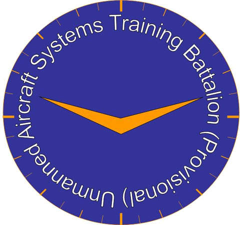 Logo of the unmanned aircraft training battalion.