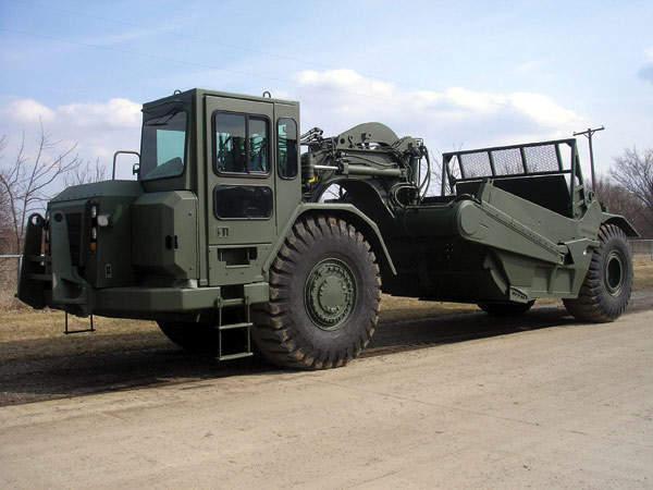 621G military scraper