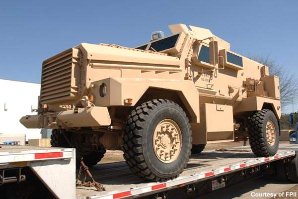 The Cougar is produced by Force Protection Industries Inc, which also produces the highly successful Mastiff.