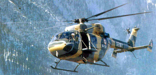 A more powerful engine for the Dhruv, the Shakti (Ardiden 1H) rated at 900kW is being developed between HAL and Turbomeca and will be manufactured at Bangalore.