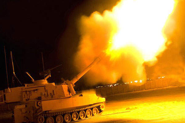 The Paladin M109A7 vehicle can attain a speed of 61km/h. Image courtesy of U.S. Army.