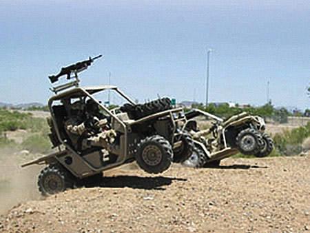 Light Tactical Wheeled Vehicle on operation