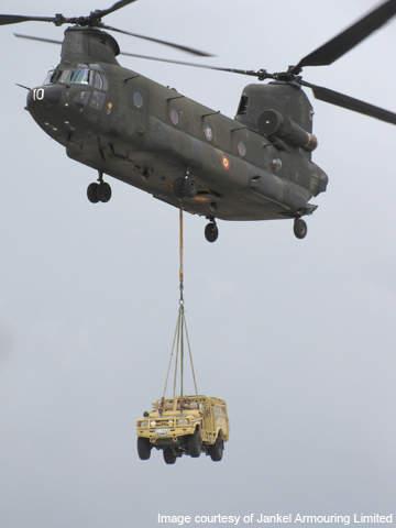 LPRV is fully air transportable