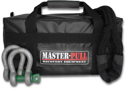 Content of the master pull kit used for winch-less vehicle extraction
