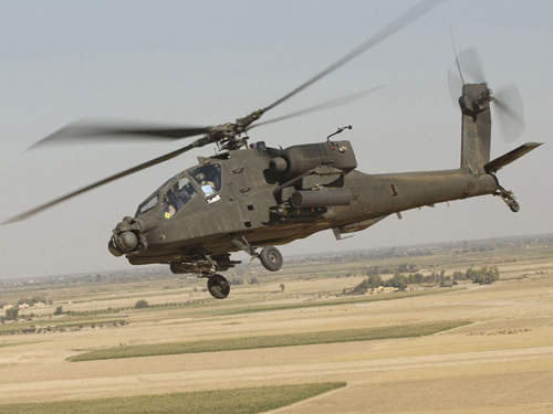 The US Army's Apache helicopters are housed at Camp Bastion.