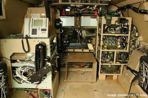 Network integration kit equipment at the White Sands Missile Range.