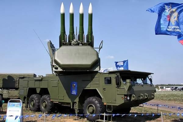 Buk-M2E can simultaneously engage a maximum of 24 targets. Image courtesy of Vitaly V. Kuzmin.