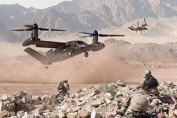 The V-280 Valor helicopter is being developed by Bell Helicopter Textron.