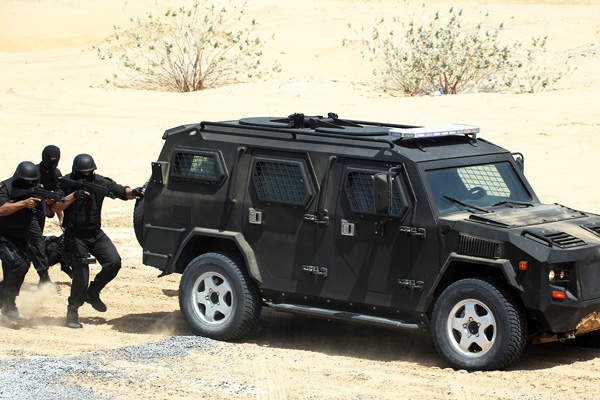 The Cobra APC offers superior ballistic protection. Image courtesy of STREIT Group.