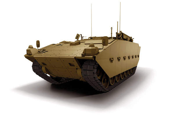 Repair variant being developed for the army under the FRES SV programme. Image courtesy of General Dynamics UK.