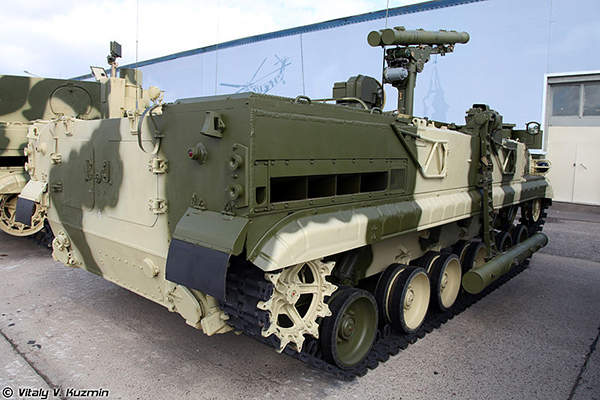 The Khrizantema-S ATGW system was introduced into the Russian Army in 2005. Image courtesy of Vitaly V. Kuzmin.