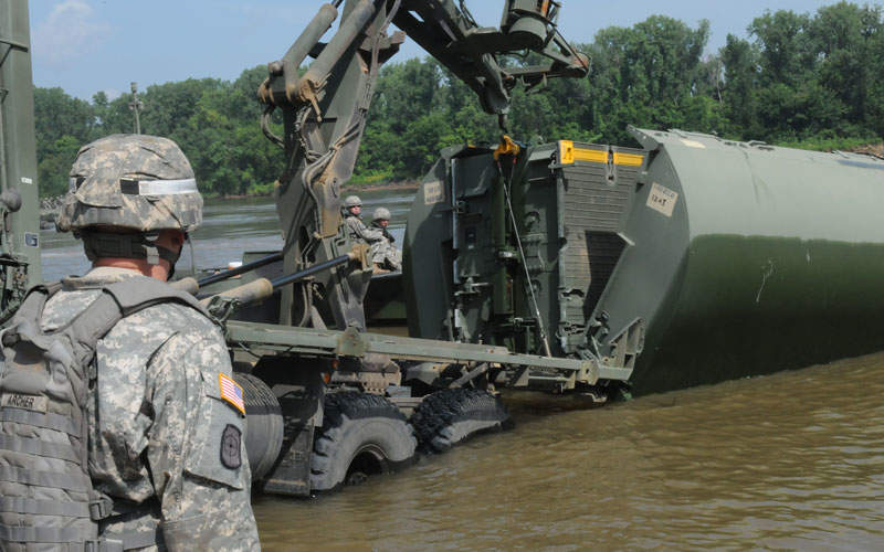 The IRB entered service with the US Army in 2002. Image courtesy of Pfc. Devin Wood.