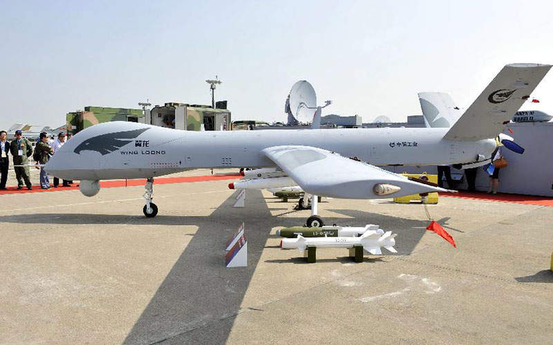 Wing Loong II Can Be Armed With Air To Ground Missiles And Guided Bombs Image Courtesy Of Xinhua Liang Xu