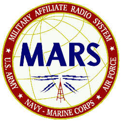 Logo of the military affiliate radio system.